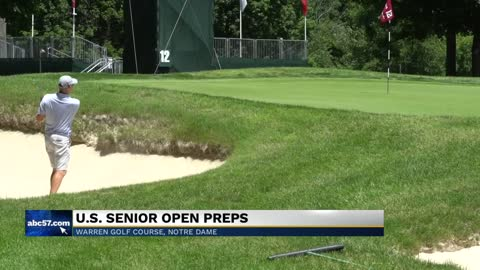 Despite rainy spring, U.S. Senior Open officials pleased with...
