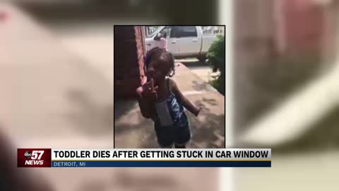 Detroit girl dies after head stuck in car's power window