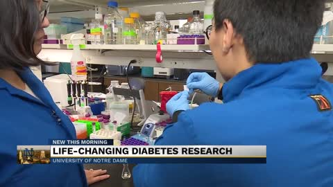Notre Dame researcher working to improve diabetic foot ulcers