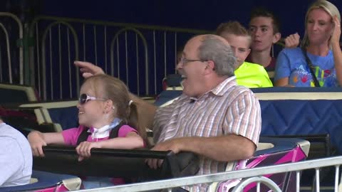 Fair rides adapted for those with special needs, all included in the fun