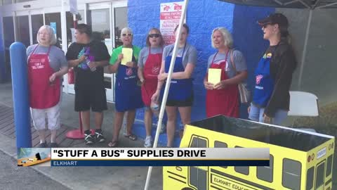 'Stuff-the-Bus' drive collects supplies for local schools