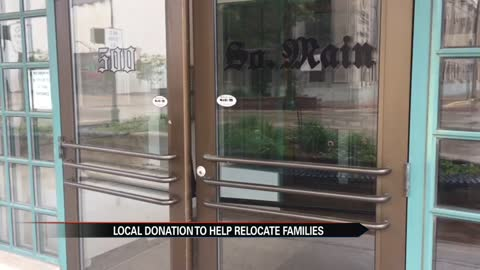 Anonymous donation helps Elkhart residents relocate