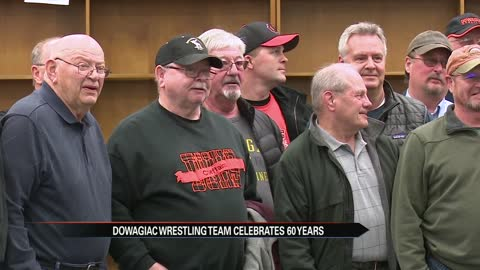 Dowagiac celebrates 60th high school wrestling season