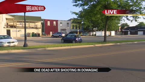One man dead after shooting in Dowagiac