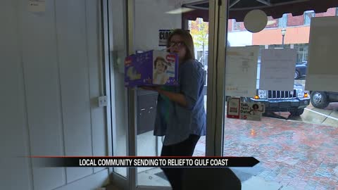Dowagiac community sends relief to Gulf Coast