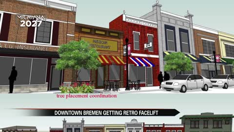 Downtown Bremen getting a retro face lift by 2020