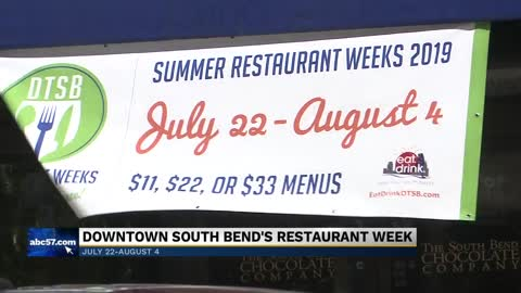 Summer Restaurant Week continues through August 4