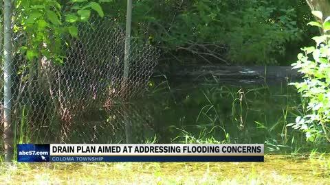 Drain plan aimed at addressing flooding concerns in Coloma Charter Township