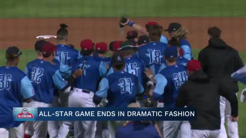 Dramatic finish caps All-Star week in South Bend