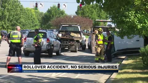 Driver injured in crash on Main Street in Mishawaka
