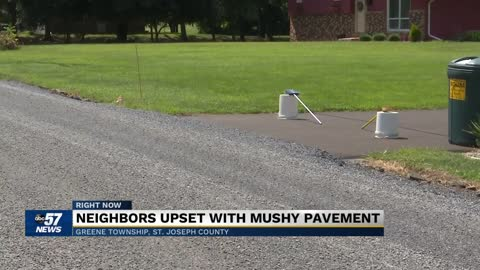 Drivers concerned with pavement material on Orange Road