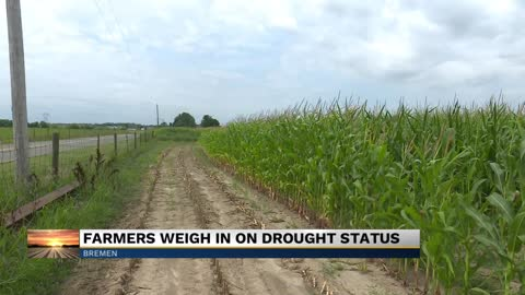 Dry weather affecting farmers throughout Michiana
