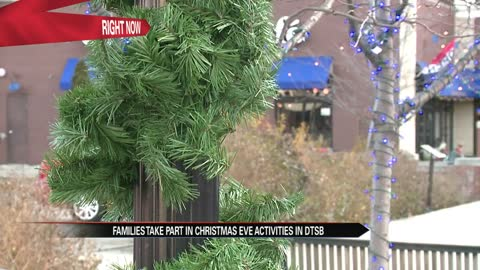 DTSB hosts 'Downtown for the Holidays' encouraging more holiday traditions