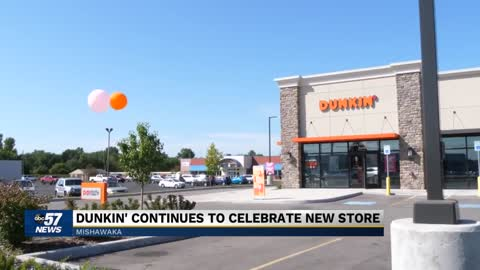 Dunkin' in Mishawaka celebrates grand opening