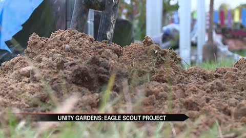 Eagle Scout project helps nonprofit