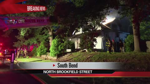 Early morning fire destroys South Bend home