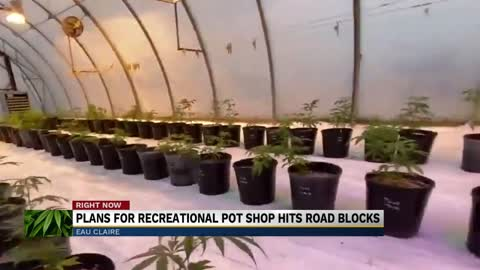 Eau Claire plans for recreational pot shop hits road blocks