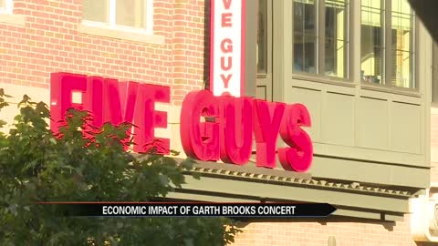 Garth Brooks, future events at Notre Dame Stadium could impact regional economy