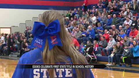Edwardsburg community celebrates football title