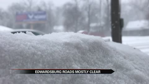 edwardsburg sees heavy snow roads stay clear