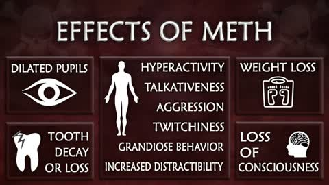 Red flags of meth addiction