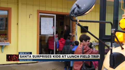 Elementary students in South Bend surprised with field trip