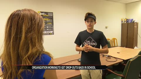The Crossing teamed up in Elkhart to help students get back in school