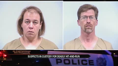Couple allegedly involved in fatal hit and run turn themselves in