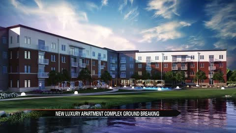 Elkhart breaks ground on new luxury apartment complex