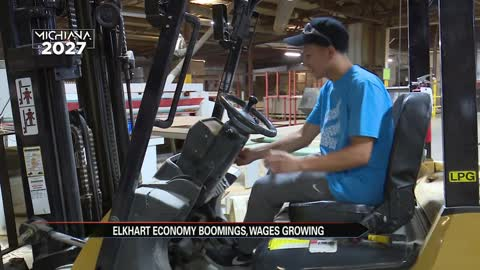 Elkhart economy booming, wages growing