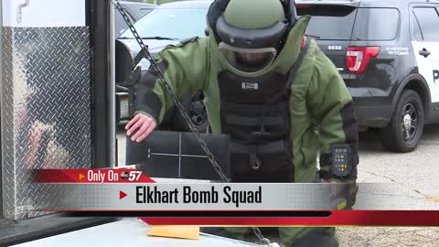 Exclusive look into the Elkhart bomb squad