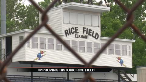 Elkhart Central begins transitioning Rice Field to turf