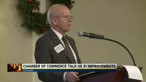 Elkhart Chamber of Commerce discusses U.S. 31 improvement project