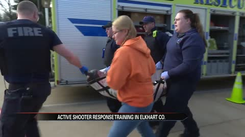 Elkhart Co. first responders complete active shooter training