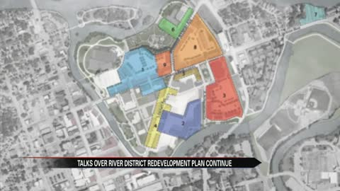 Elkhart community hears about River District plan