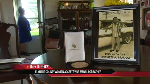Filipino WWII veteran honored after 75 years