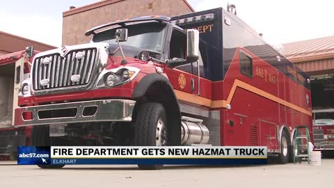 Elkhart Fire Department gets new hazmat truck