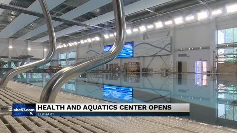 New Elkhart Health and Aquatics Center opens their doors