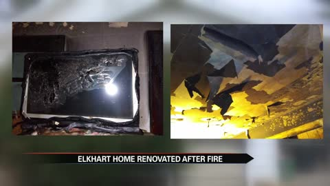 Elkhart woman surprised with renovations months after fire