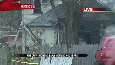 Crews responding to Elkhart house fire