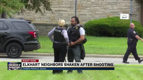 Elkhart neighbors shaken after shooting