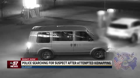 Elkhart Police investigating incident of man in van offering...