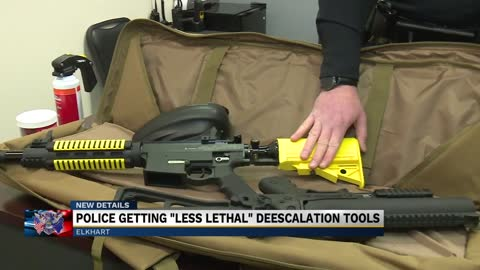 Elkhart police now have more less lethal options to use