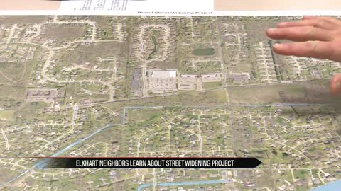 Elkhart residents learn about street widening project at public meeting