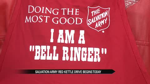 Elkhart Salvation Army in need of Red Kettle ringers