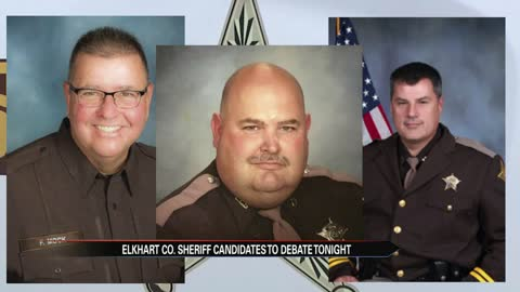 Candidates for Elkhart County sheriff to debate Wednesday