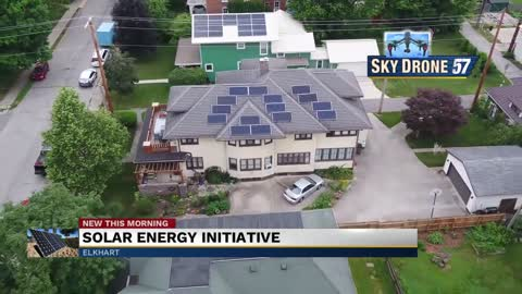Elkhart launches initiative to educate home, business owners on solar energy