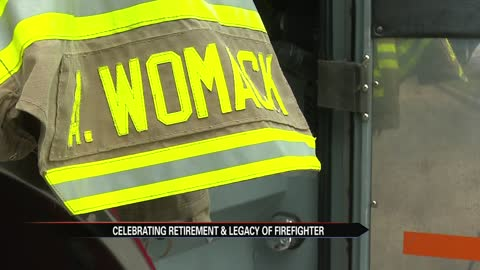 Elkhart's first female firefighter to retire from active duty completes last shift