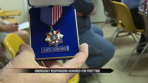 Emergency responders honored for first time in Dowagiac