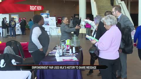 'Empowerment Fair' uses MLK's history to share message